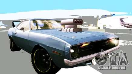 Plymouth Cuda AAR 340 1970 Muscle Cars para GTA San Andreas