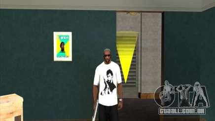 T-shirt do Chuck Norris para GTA San Andreas