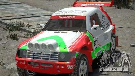 Mitsubishi Pajero Proto Dakar EK86 vinil 2 para GTA 4