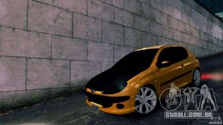 Peugeot 206 para GTA 4