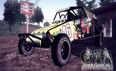 Buggy Monster energy para GTA San Andreas
