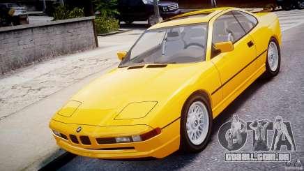 BMW 850i E31 1989-1994 para GTA 4