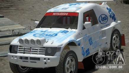 Mitsubishi Pajero Proto Dakar EK86 vinil 3 para GTA 4