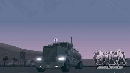 Kenworth Petrol Tanker para GTA San Andreas