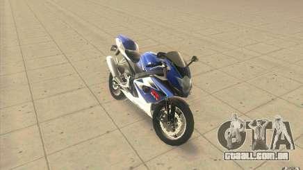 Suzuki GSXR 1000 para GTA San Andreas