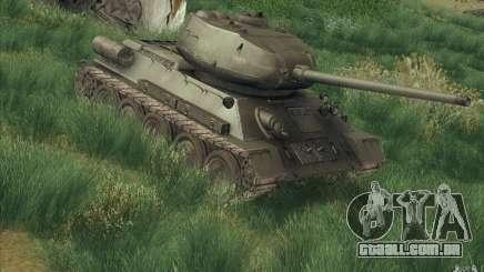 T-34-85 do jogo COD World at War para GTA San Andreas