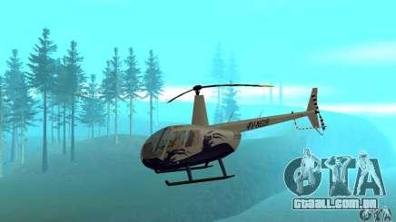 Robinson R44 Raven II NC 1.0 4 de pele para GTA San Andreas