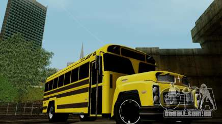International Harvester B-Series 1959 School Bus para GTA San Andreas