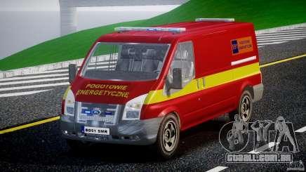 Ford Transit Polski uslugi elektryczne [ELS] para GTA 4