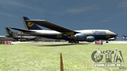 Lufthansa Airplanes para GTA 4