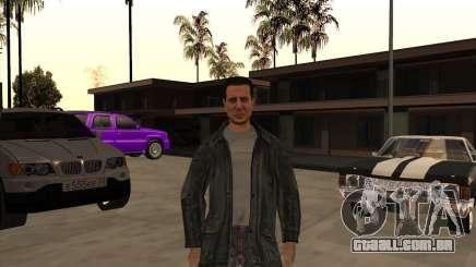 A pele é um membro da máfia para GTA San Andreas