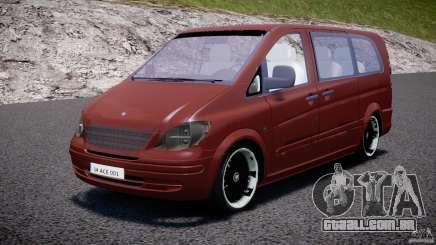 Mercedes-Benz Vito SportVIP para GTA 4
