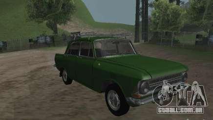 IZH 412 v 3.0 para GTA San Andreas