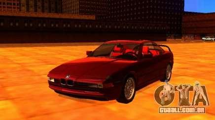 BMW 850i para GTA San Andreas