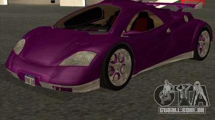 Conceptcar Nimble para GTA San Andreas