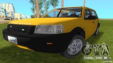 Land Rover Freelander para GTA Vice City