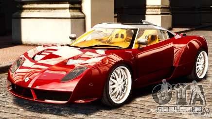 Spyker C12 Zagato 2007 para GTA 4