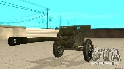 A arma do ZiS-3 para GTA San Andreas