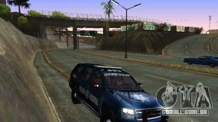Chevrolet Tahoe 2008 Police Federal para GTA San Andreas
