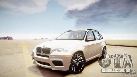 BMW X5M 2011 para GTA 4