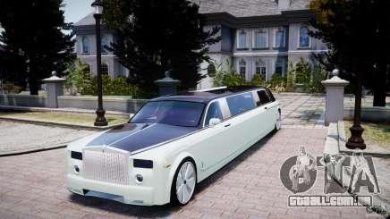 Rolls Royce Phantom Sapphire Limousine Disco para GTA 4