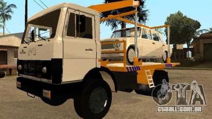 MAZ 54323 REBOQUE para GTA San Andreas