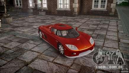 Koenigsegg CCX v1.1 para GTA 4