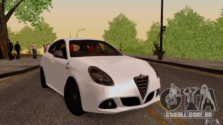 Alfa Romeo Giulietta 2010 para GTA San Andreas