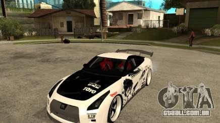 Nissan Skyline R35 para GTA San Andreas