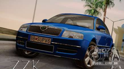 Skoda Superb 2006 para GTA San Andreas