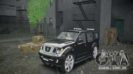 Nissan Pathfinder 2010 para GTA 4