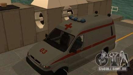 UAZ Simba SC ambulância para GTA San Andreas