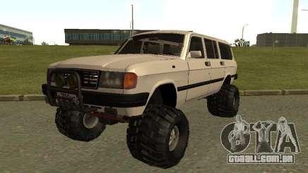 Volga 31022 gás 4 x 4 para GTA San Andreas