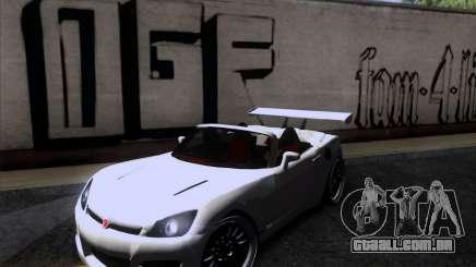 Saturn Sky Roadster para GTA San Andreas