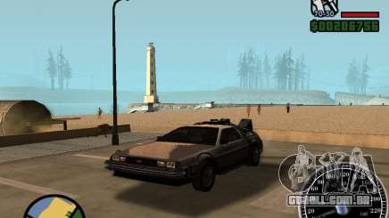 Crysis Delorean BTTF1 para GTA San Andreas
