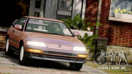 Honda CR-X SiR 1991 para GTA 4
