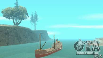 Steam Freighter para GTA San Andreas