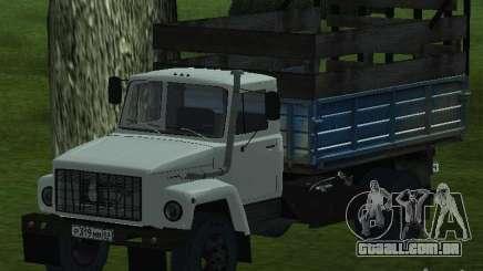 GAZ 3309 branco para GTA San Andreas