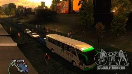Bus Kramat Djati para GTA San Andreas