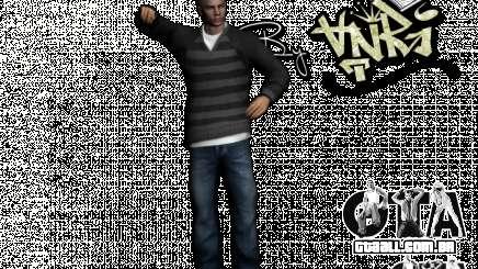 PED em jeans e jaqueta para GTA San Andreas