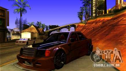 Mercedes Benz 190E - SpeedHunters Edition para GTA San Andreas