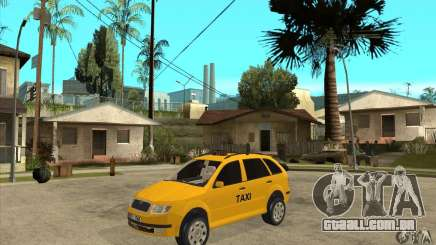 Skoda Fabia Combi Taxi para GTA San Andreas