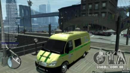 Serviços de transporte de gazela 2705 para GTA 4