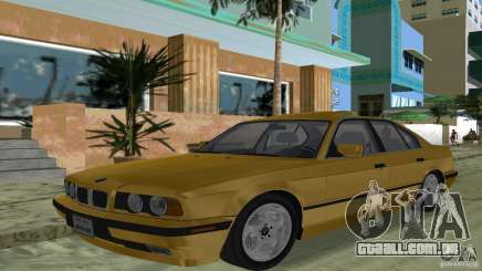 BMW 540i e34 1992 para GTA Vice City
