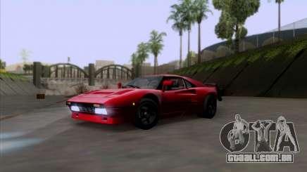 Ferrari 288 GTO para GTA San Andreas