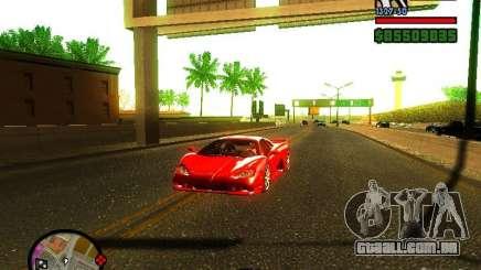 SSC Ultimate Aero para GTA San Andreas