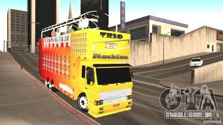 Scania 93H 6x2 Trio Eletrico para GTA San Andreas