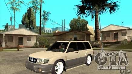 Subaru Forester 1997 ano para GTA San Andreas