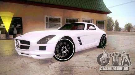 Mercedes-Benz SLS AMG 2010 Hamann Design para GTA San Andreas