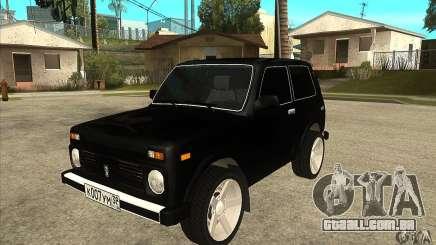 VAZ 21213 NIVA matizado para GTA San Andreas
